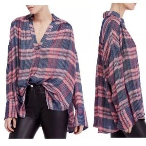 Free People Fearless Love Bell Sleeve Tunic Top
